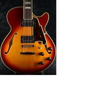 Dand039angelico Ex-ss -iced Tea Burst- Electric Guitar