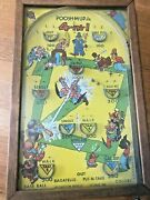 1930s-poosh-m-up 4-in-1 Pinball Game-table Top Basebll Game-northwestern Prodgb