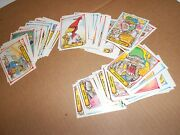 1990's Wacky Packages Mlb Baseball Lot Complete Set Of 88 + 36 Extra Cards--f16a