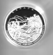 2014 Canada 250. Silver Kilo Coin - Battle Of Lundyand039s Lane - 225 Made