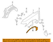 Infiniti Nissan Oem-front Fender Flare Wheel Well Arch Molding Right 638107s680