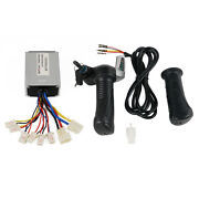 24v 500w Motor Brush Speed Controller With Electric Bicycle Throttle Grip Set