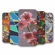 For Iphone 12 Mini Flip Case Cover Stained Glass Collection 2
