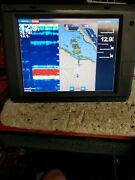 Garmin Gpsmap 7212 Touch Screen Gps Chartplotter Display Pre-owned