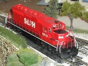 Ho Athearn Blue Box Sd40-2 For St. Lawrence And Hudson 5615 W/sound And Dcc