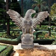 American Bald Eagle Sculpture Symbol Of A Country's Pride And Strength
