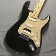 Used Fender American Ultra Stratocaster Hss Texas Tea Maple Fb Guitar Fbh107