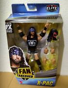 Wwe Elite Collection Fan Takeover X-pac Nwo Action Figure Wrestling Toy