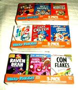 2012 Wacky Packages All New Series 9 {ans9} Complete Cereal Box Set All Nine