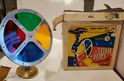 Vintage Spartus Model 880 Rotating Color Wheel For Aluminum Christmas Tree Box