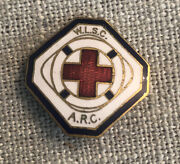 1920and039s Wlsc Arc America Red Cross Womanandrsquos Life Saving Corps Pin