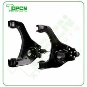 2x Front Lower Control Arms Suspension Set Fits 99-03 Chevy Silverado 1500 2wd