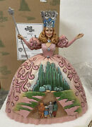New Jim Shore Wizard Of Oz Glinda Witch No Place Like Home 4031505 Emerald City