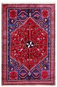 5 X 7 Hand Knotted Tribal Red Wool Afsharr Semi Antique Birds Oriental Rug