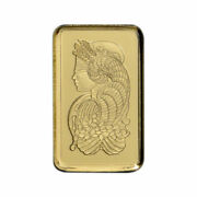 1 Gram Gold Bar Pamp Suisse Lady Fortuna In Assay Card .9999