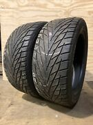 2 - Used Pair 295/45r20 Toyo Proxes S/t Tires 5-7/32nds 2954520