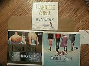 3 Audiobooks Danielle Steel Coming Out, Sisters, Winners