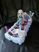 Monster High Dead Tired Abbey Doll And Bed Set