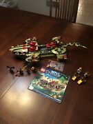 Lego Legends Of Chima Craggerand039s Command Ship 70006- All Pieces And Figs