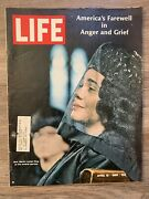 Life Magazine April 19, 1968 Martin Luther King Funeral Service Issue Excellent