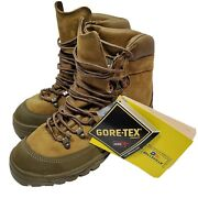 Belleville Army Mountain Combat Boots Mcb Gore-tex Vibram Size 7 New W/tags Nwt