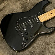 Charvel Model-1a3s Black Used Basswood Body Rosewood Fingerboard W/soft Case