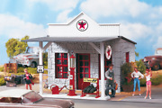 62264 Texaco Gas Station, Building Kit G-scale