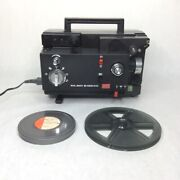 Vintage Elmo K-100 Sm 8mm Film Projector Rare For Parts Untested Sold As Is