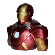 Iron Man Deluxe Bust Bank