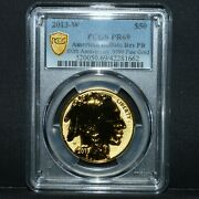 2013-w 50 Reverse Proof Gold Buffalo ✪ Pcgs Pr-69 ✪ 100th Anv 9999 Rp ◢trusted◣