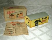 Vintage Schuco 1500 Telephone Garage -box And Instructions- Tin Toy-germany-lot-b