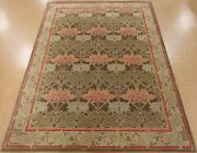 9and039 X 12and039 Pottery Barn Cecil Rug Green New Hand Tufted Wool Carpet