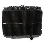 1968-69 Ford Mustang Maxcore 3-row Radiator Copper/brass 24 289-302-351 Motor