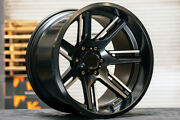 20 V Rock Vr12 Throne Wheels Fits Lifted Ford F150 Vrock Rims