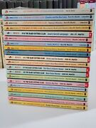 The Babysitters Club Lot Of 20 By Mary Anne Misses Mysteries-books 1-20