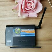 Linksys Cisco Wga54g Instant Wireless-g Game Adapter Ethernet Network Gaming
