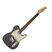 Fender Made In Japan Hybrid 60s Telecaster Rw Charcoal Frost Metallic エ