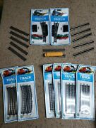 Vintage Lot Of Bachmann N-scale Str And Radius Track Switches And 4645 Locomotive