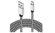 Extra Long Usb Type C Cable Charger Android Phone Tablet Usb-c Car Cord 15 Feet