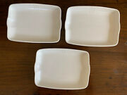 3 British Airways Dishes Tray Plates Made By Royal Doulton