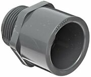 Spears 836 Series Pvc Pipe Fitting Adapter Schedule 80 3/4 Socket X Npt Male...