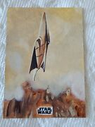 2018 Star Wars Finest Padmeand039s Ship Sketch Card 1/1 By Jay Manchand Stunning