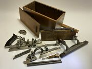 Stanley 45 Dado And Plow Combination Plane Complete With A Blade Set