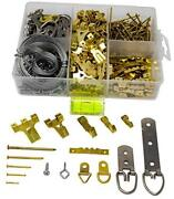 Picture Hanging Kit 450+ Pieces | Hardware For Frames Heavy Duty | Great