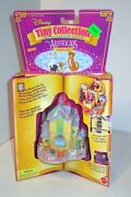 Vintage 1996 Disney Aristocats Tiny Collection Scat Cat Pad Chateau Polly Pocket