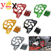 Front Engine Chain Sprocket Cover Guard Protector For Kawasaki Z1000 2010-2019