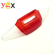 Rear Tail Brake Light Cover Cap Indicator Lens Guard Protector For Bmw R1200rt
