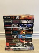 Lot Of 9 8 Pb And 1 Hc Books Complete Maximum Ride Series James Patterson
