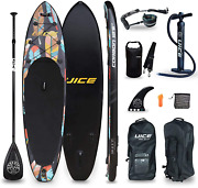 Uice Black Carbon Inflatable Stand Up Paddle Board 11and039x33 X6 Unique Classic Des
