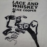 70s Alice Cooper Vintage T-shirt Genuine Band T-rock T At That Time From Japan